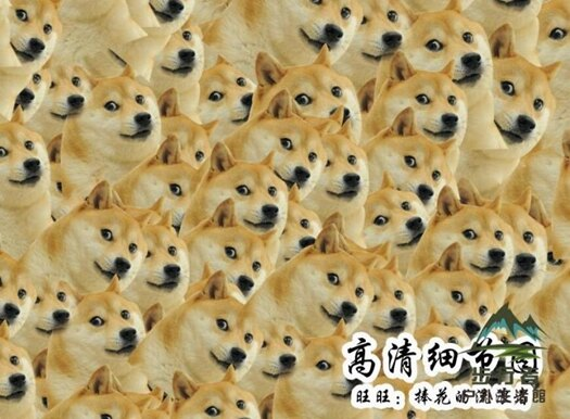拼圖300片doge神煩狗木質成人喪心病狂魔性拼圖【步行者戶外生活館】