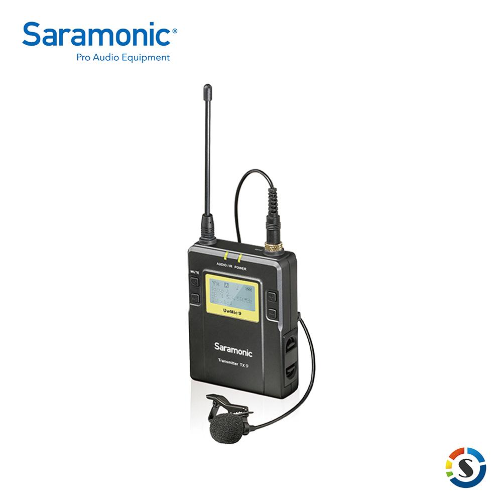 Saramonic 楓笛 無線麥克風發射器 UwMic9 (TX9)
