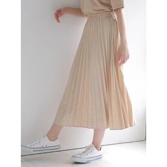 【6,000円(税込)以上のお買物で全国送料無料。】・SUGAR SPOON サテンジャカードスカート