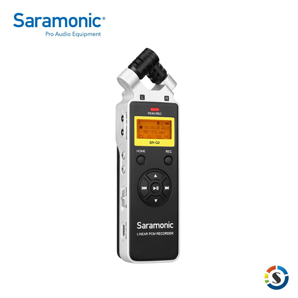 Saramonic 楓笛 SR-Q2 手持雙聲道立體聲錄音筆