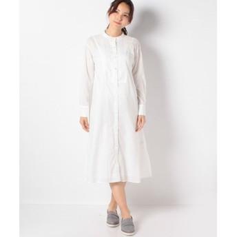 マーコート lace seemed shirt ワンピース レディース WHITE f 【MARcourt】