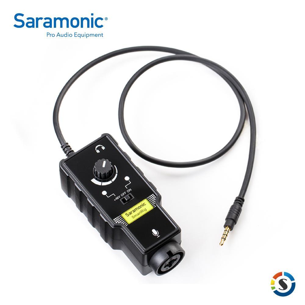 Saramonic 楓笛 SmartRig II 麥克風、智慧型手機收音介面