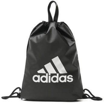 (adidas/アディダス)アディダス adidas ナップサック リュックサック デイパック A4 軽量 リフレクター キッズ 通学 子供 学校 塾 習い事 小学校 スクール 57672/ ブラック