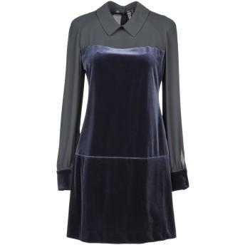 《セール開催中》MANILA GRACE レディース ミニワンピース&ドレス 鉛色 40 ポリエステル 94% / ポリウレタン 6%