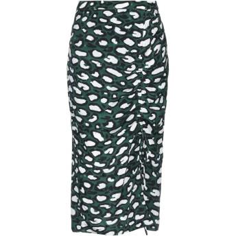 《セール開催中》ESSENTIEL ANTWERP レディース 7分丈スカート グリーン 36 シルク 100%