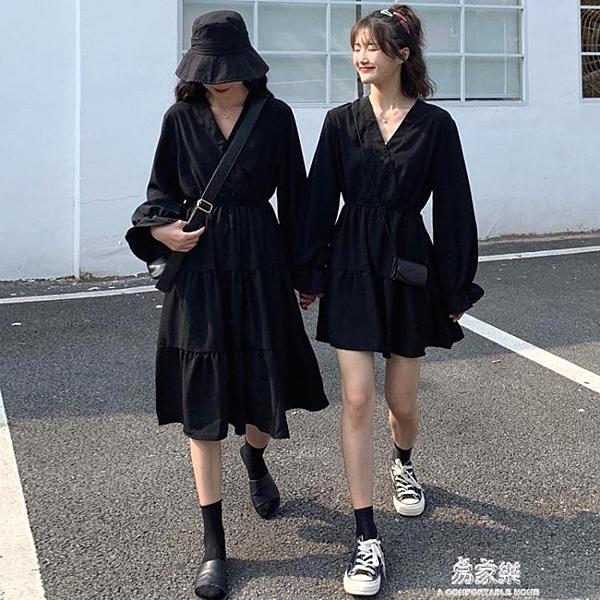春秋季洋裝不一樣的閨蜜姐妹裝裙子女氣質顯瘦 【母親節禮物】