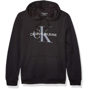 Calvin Klein(カルバンクライン)Men's クラッシックロゴパーカー41QY904 US-L(ユニセックス