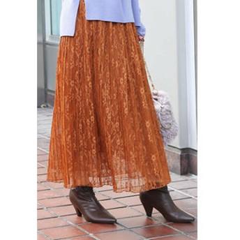 【FREE'S MART:スカート】レースプリーツスカート