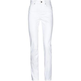 《セール開催中》GUESS レディース パンツ ホワイト 27W-31L テンセル 61% / コットン 30% / エラストマルチエステル 7% / ポリウレタン 2%