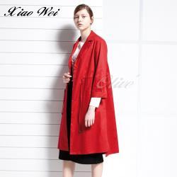 CHENG DA 秋冬專櫃精品時尚流行長版風衣外套 NO.558125