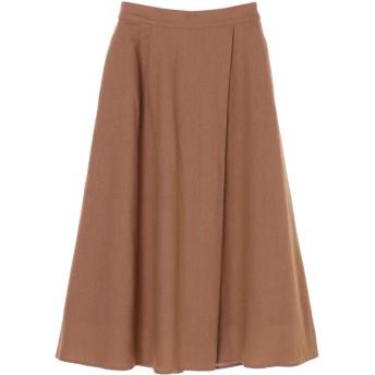 【6,000円(税込)以上のお買物で全国送料無料。】リネンナロースカート
