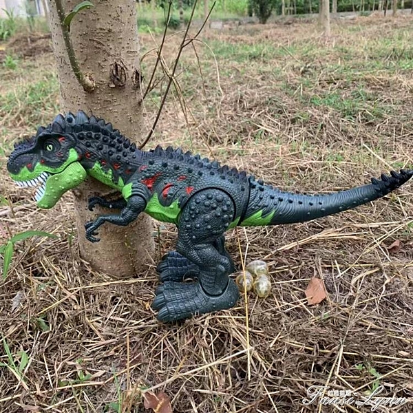 會發光發聲會叫男孩仿真暴龍恐龍玩具電動恐龍玩具會走路的霸王龍 范思蓮恩