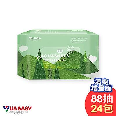 優生 純淨柔濕巾清爽型(88抽24包)