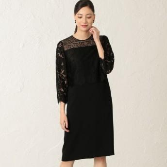 【エポカ(EPOCA)】 フィオーレリバーレース ドレス 黒