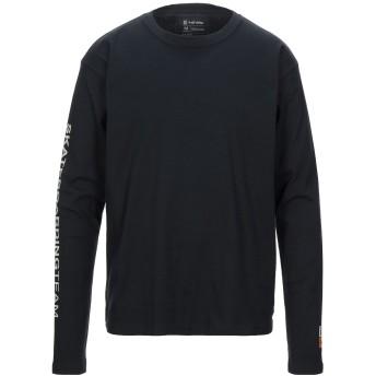 《セール開催中》OSKLEN メンズ T シャツ ブラック S コットン 50% / ポリエステル 50%