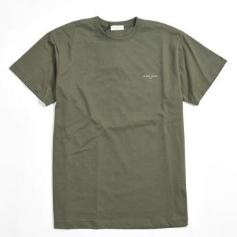 イン ノミネイト (ih nom uh nit) Tシャツ 半袖 ワンポイント ロゴ メンズ コットン 綿 100% オリーブ グリーン/S M L XL/パリ ブランド ストリート カジュアル【並行輸入品】