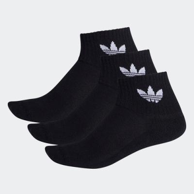 adidas 中筒襪 3 雙入 男/女 FM0643