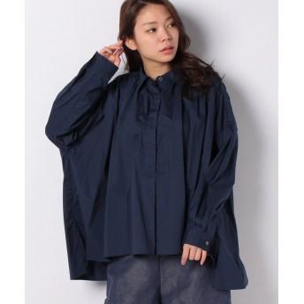 (FRAPBOIS/フラボア)ポットシャツ/ユニセックス ネイビー
