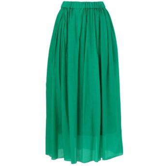 【エポカ ザ ショップ(EPOCA THE SHOP)】 【SACRA】ギャザースカート グリーン1