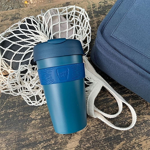 【KeepCup】新款原創隨身杯454ml(16oz) L -優雅藍 咖啡杯