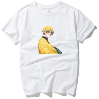 鬼滅の刃半袖,プリントラウンドネックコットンt-アニメファンのためのシャツ釜堂ねずこシャツ D S