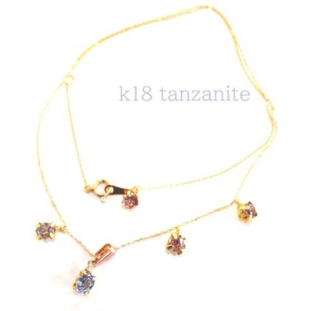 tanzanite & spinel bracelet ブレスレット 夜桜色