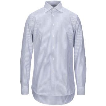 《セール開催中》GABRIELE PASINI メンズ シャツ ブルー 39 コットン 100%