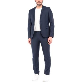 《セール開催中》MANUEL RITZ メンズ スーツ ブルー 54 バージンウール 100%