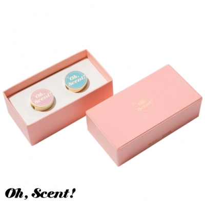 Oh, Scent! 精緻車上香氛情侶款 Pink-粉(鈴蘭+嫩葉)