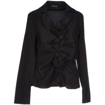 《セール開催中》DIANA GALLESI レディース シャツ ブラック 42 コットン 63% / ポリエステル 37%