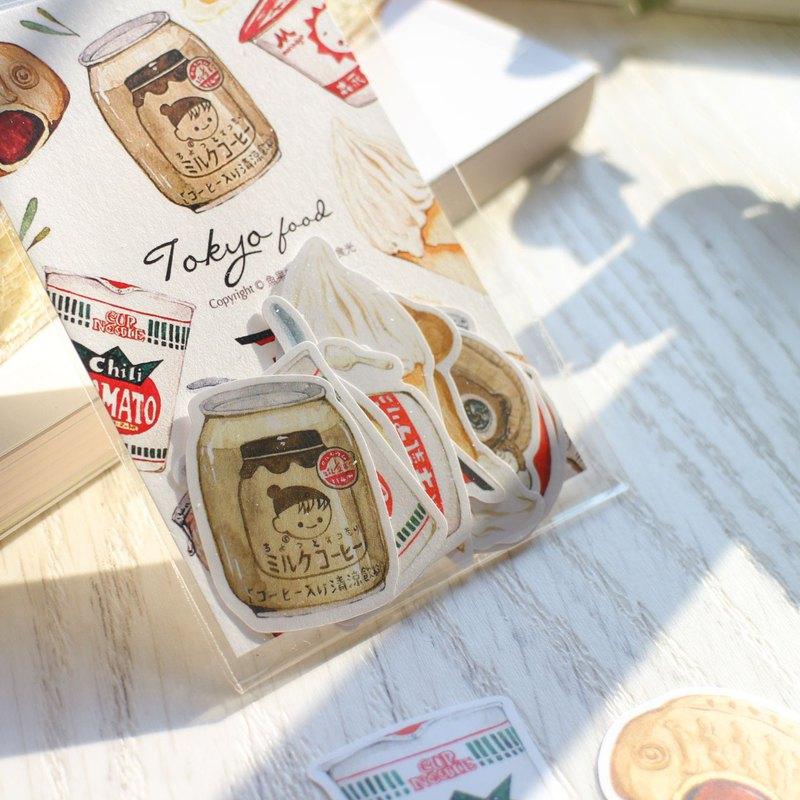 東京小食光 貼紙