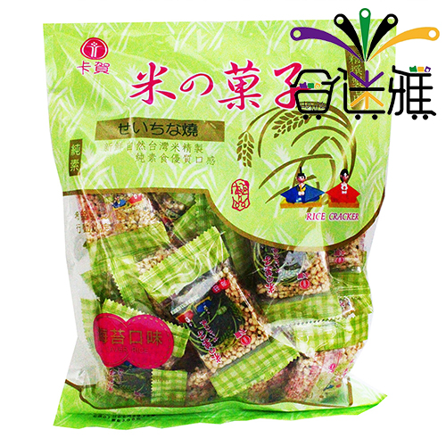 卡賀米菓子-海苔(240g/包)X1包 -02