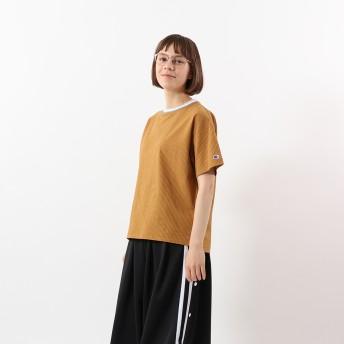 ウィメンズ ラインリブTシャツ 20SS 【春夏新作】チャンピオン(CW-R324)【5500円以上購入で送料無料】