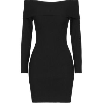 《セール開催中》GOTHA レディース ミニワンピース&ドレス ブラック one size レーヨン 88% / ポリエステル 12% / シルク