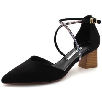[NJI] 6センチ パンプス セパレートパンプス ホワイト 結婚式 靴 セパレート ハイヒール 22.0cm レディース 歩きやすい 25cm 痛くない 赤 白 黒 レディース靴 ヒール6cm 太ヒール レッド ブラック ピンク 履きやすい 美脚 二次会
