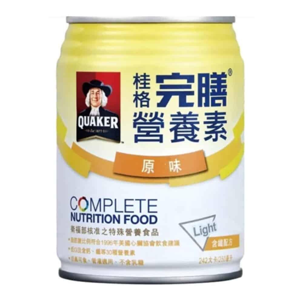 桂格完膳營養素含纖配方 原味 250ml 24入/箱