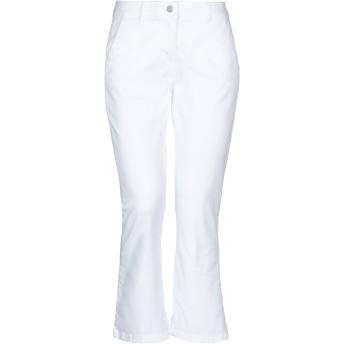 《セール開催中》GUTTHA レディース パンツ ホワイト 38 コットン 97% / ポリウレタン 3%