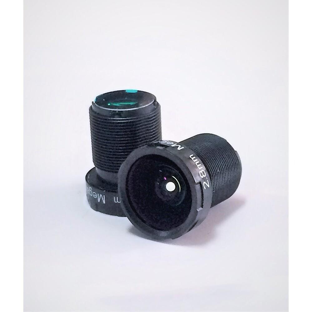 2.8mm f2.0 攝影監控鏡頭 board lens 超廣角拍攝ir 固定光