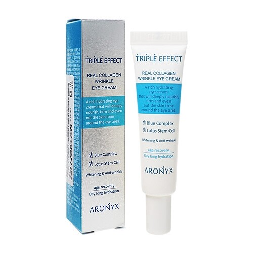 韓國 aronyx 膠原蛋白抗皺美白保濕眼霜12ml(小) /眼霜/保濕眼霜/眼周保養