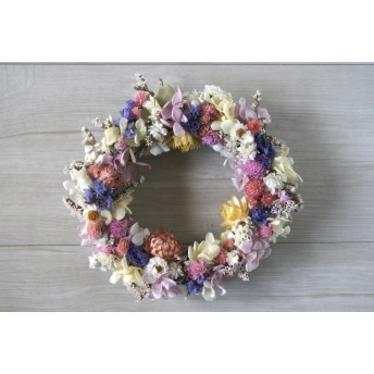 Sweet colorful Wreath