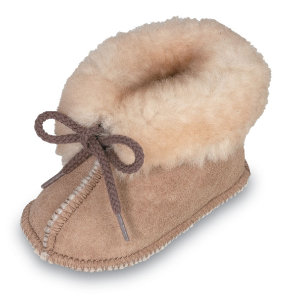 Minnetonka Genuine Sheepskin Bootie - Infant Bootie