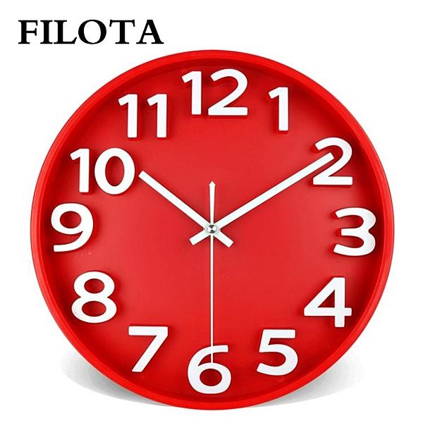 歐式超大個性鐘錶掛鐘圓形客廳時尚靜音現代簡約創意臥室家用掛錶