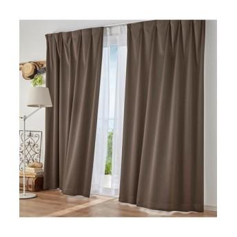 【1cm単位オーダー】防炎。遮光カーテン(1枚) ドレープカーテン(遮光あり・なし) Curtains, blackout curtains, thermal curtains, Drape(ニッセン、nissen)