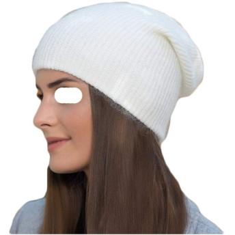 女性のソリッドカラーのウールニット帽暖かい帽子冬のウールキャップ (Color : 06, Size : One size)