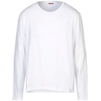 《セール開催中》BARENA メンズ T シャツ ホワイト XXL コットン 100%
