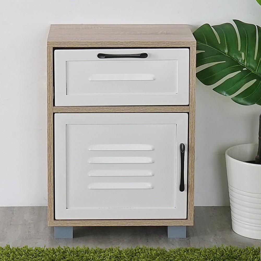 YoStyle 德木岡單抽置物櫃 床頭櫃 床邊櫃 收納櫃 置物櫃