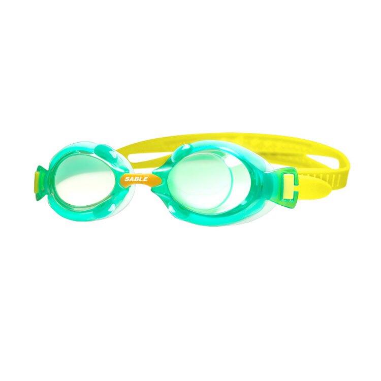 【SABLE黑貂】兒童平光泳鏡SB-982T / 城市綠洲 (泳鏡、蛙鏡、戲水泳渡、水上用品)