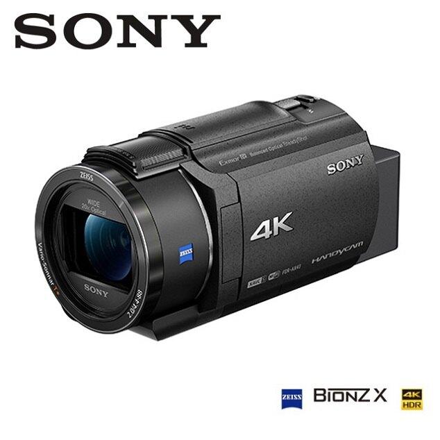 SONY 4K數位攝影機 FDR-AX43 公司貨 限量贈長效電池+座充+吹球清潔組