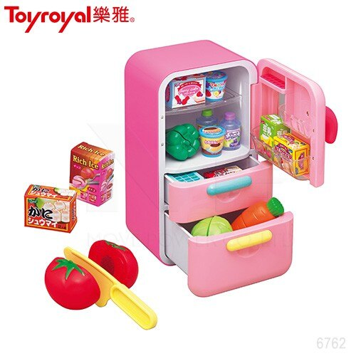 Toyroyal 樂雅 生活小達人-冰箱組【甜蜜家族】