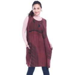 【手藝】異國風格造型長版背心裙(泰製)FHC4915-01A
